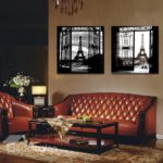 Eiffel Tower and the Gte Film Wall Art