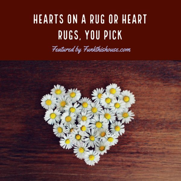 Heart Area Rugs