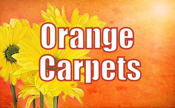 Orange Carpets