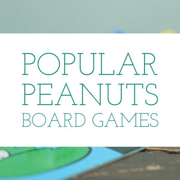 Popular Peanuts Board Games
