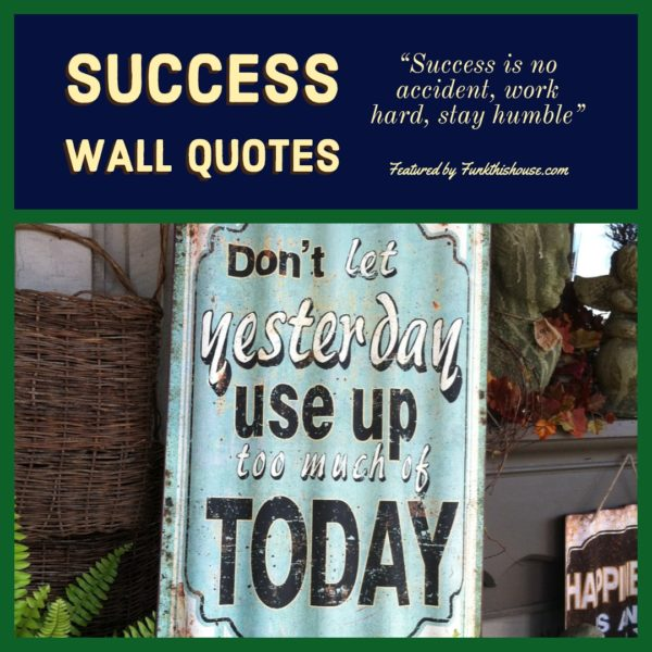 Success Wall Quotes