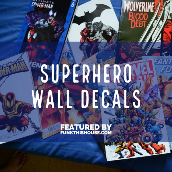 Superhero Wall Decals