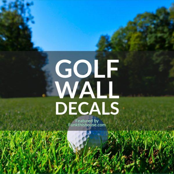 Golf Wall Decals