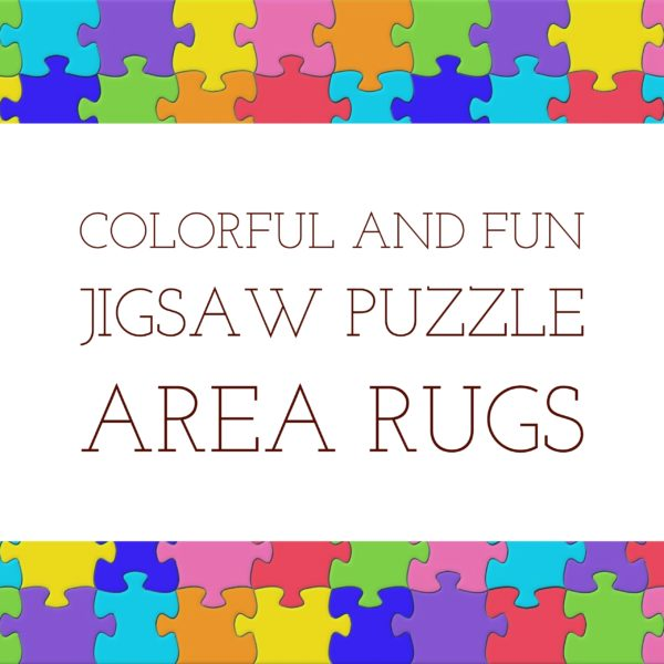Jigsaw Puzzle Area Rugs