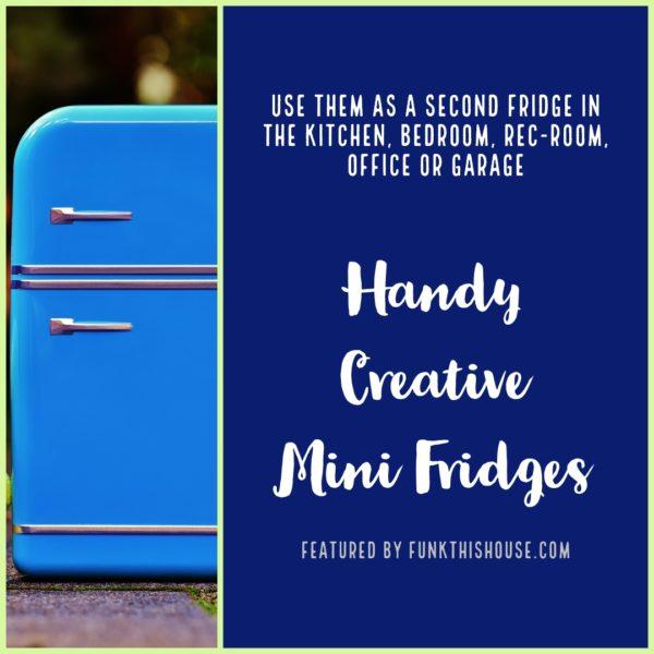 Creative Mini Fridges