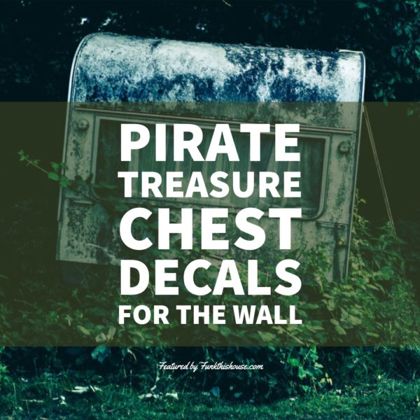 Pirate Treasure Chest Wall Decals
