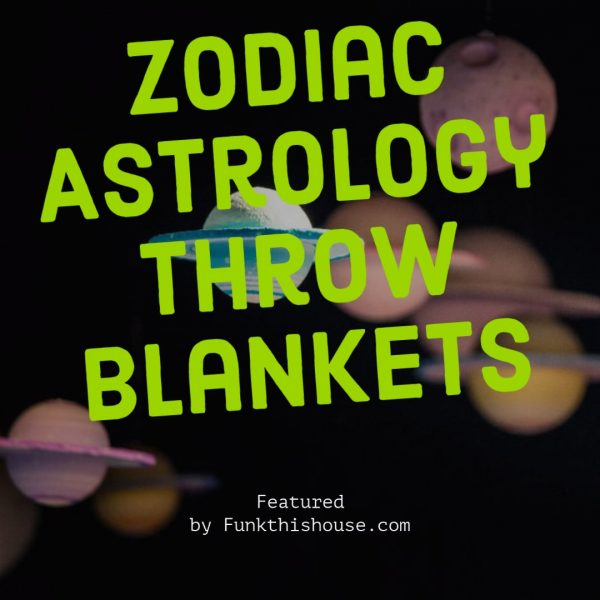 Astrology Throw Blankets