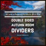 Autumn Double Sided Room Dividers