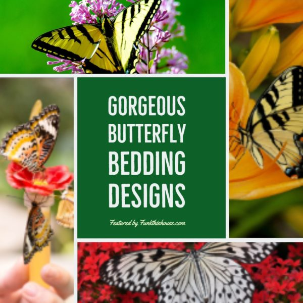 Gorgeous Butterfly Bedding Sets