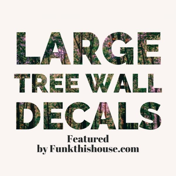 Large Tree Wall Decals