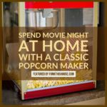 A Nostalgic Popcorn Maker for Movie Night