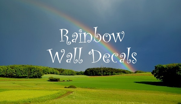 Rainbow Wall Decals