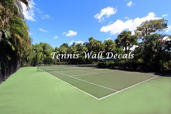 Tennis Wall Decals