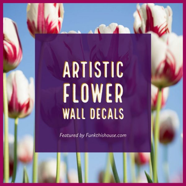 Artistic Floral Wall Decals