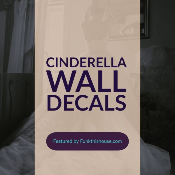 Cinderella Wall Decals