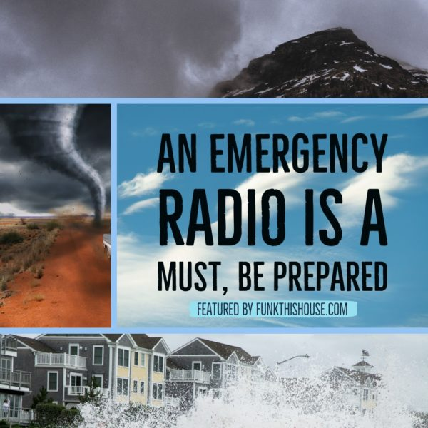 Be Prepared with an Emergency Radio