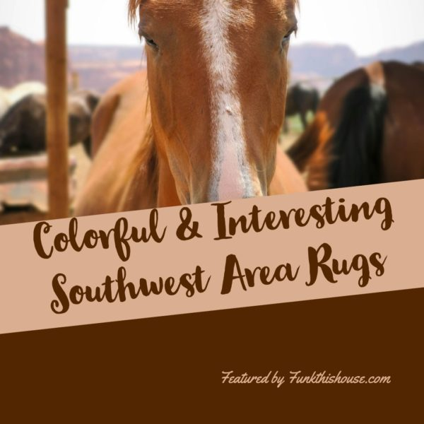 Colorful Southwest Area Rugs