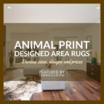 Animal Print Area Rugs