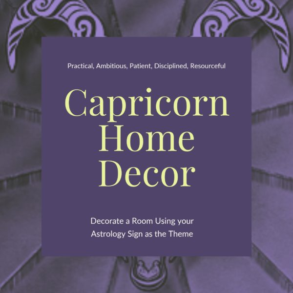 Capricorn Home Decor