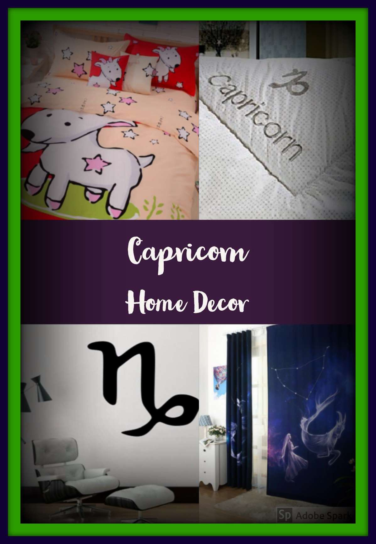 Capricorn Home Decor Items for a Themed Room