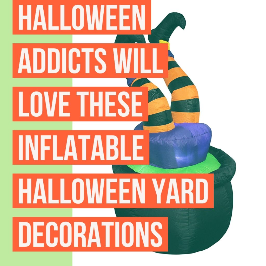 Inflatable Halloween Lawn Decorations The Easy Way to Decorate
