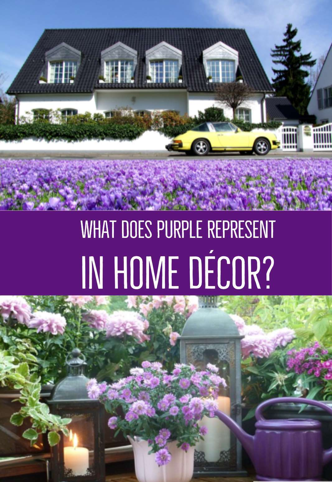 What Does Purple Represent In Home Decor Funk N Color