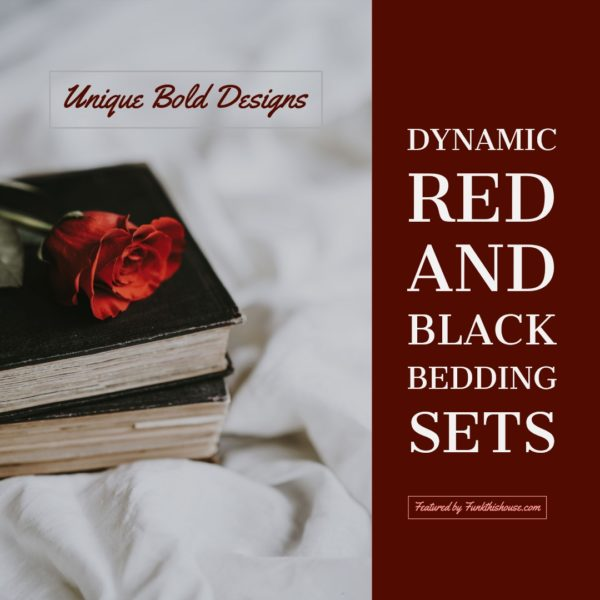 Red and Black Comforter Sets