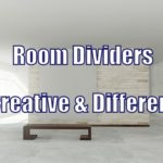 Creative Room Divider Ideas