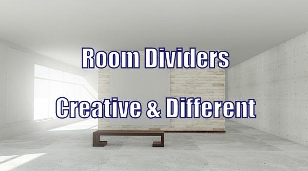 Creative Room Divider Ideas