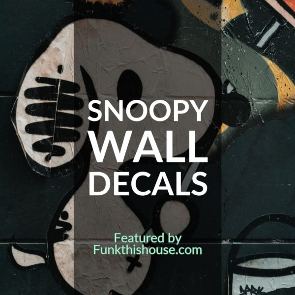 Snoopy Wall Decals
