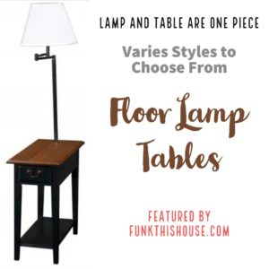 Table With Built In Floor Lamp