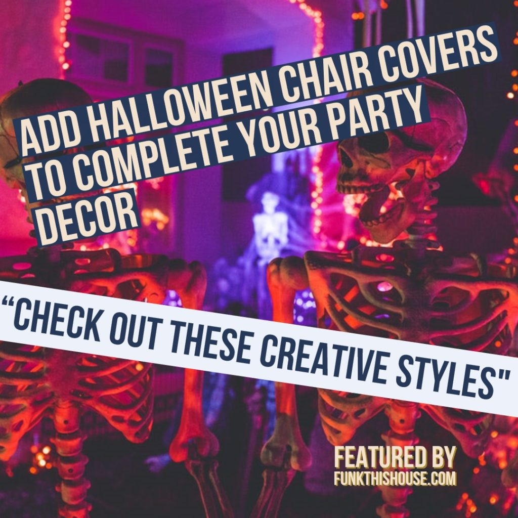 Groovy Halloween Chair Covers When You Cant Get Enough Halloween Decor Caraccident5 Cool Chair Designs And Ideas Caraccident5Info