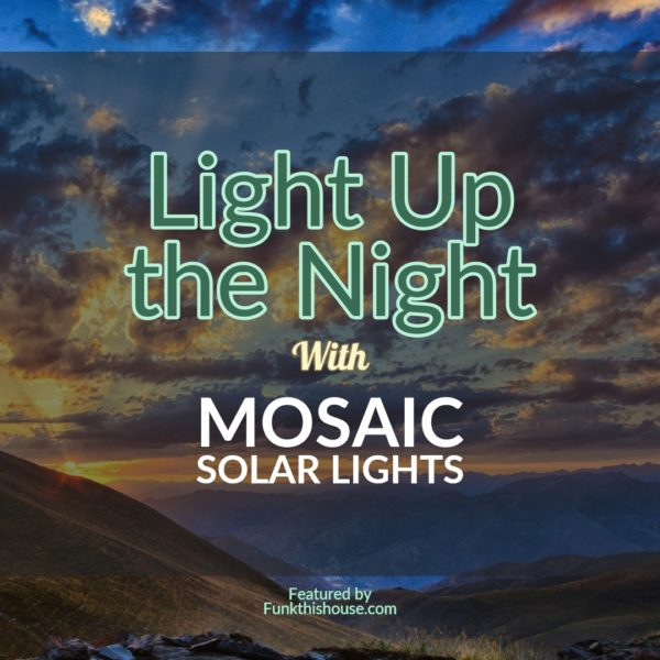 Mosaic Solar Lights