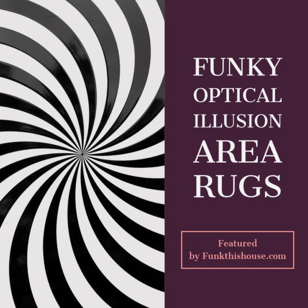 Funky Optical Illusion Area Rugs