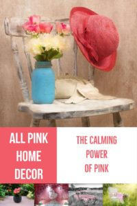All Pink Home Decor Featured Here