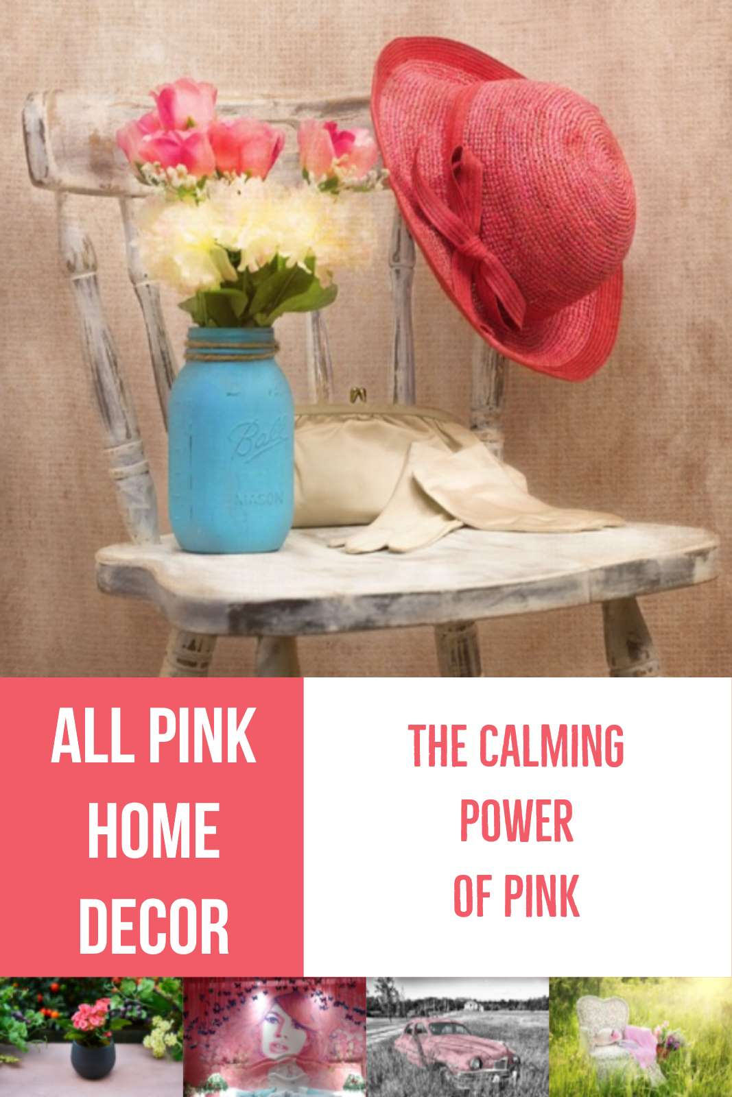 Red Home Decor Items Pink Home Decor Items