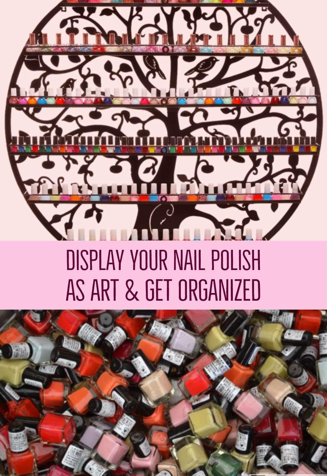 Nail Polish Wall Organizers