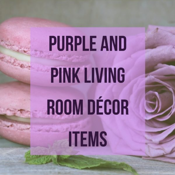 Purple and Pink Living Room Decor