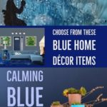 Blue Home Decor Items – Peaceful, Relaxing, Professional and Trustworthy, that's Blue