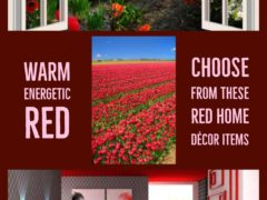 Red Home Decor – When Your Home Needs Warmth, Energy and a Touch of Passion