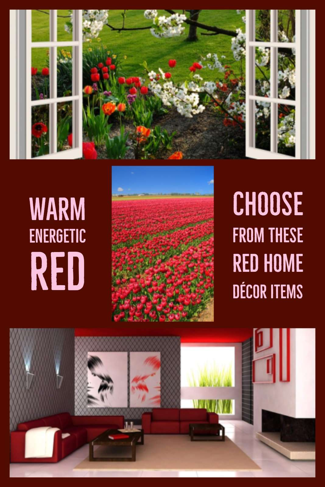 Green Home Decor Items Red Home Decor Items