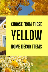 Yellow Home Decor