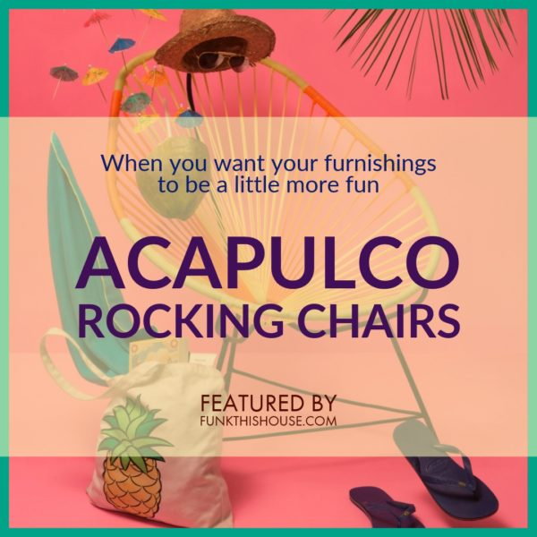 Fabulous Funky Acapulco Rocking Chairs Where Retro Meets Modern Squirreltailoven Fun Painted Chair Ideas Images Squirreltailovenorg