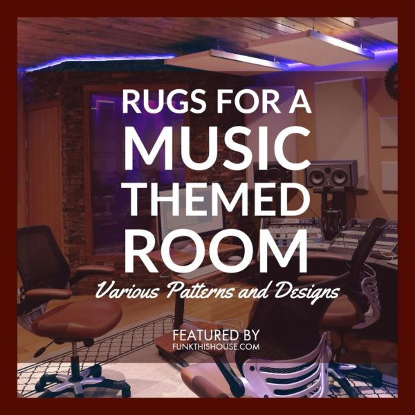 Rugs for a Music Themed Room