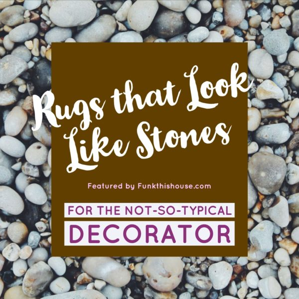 Rugs that look like stones