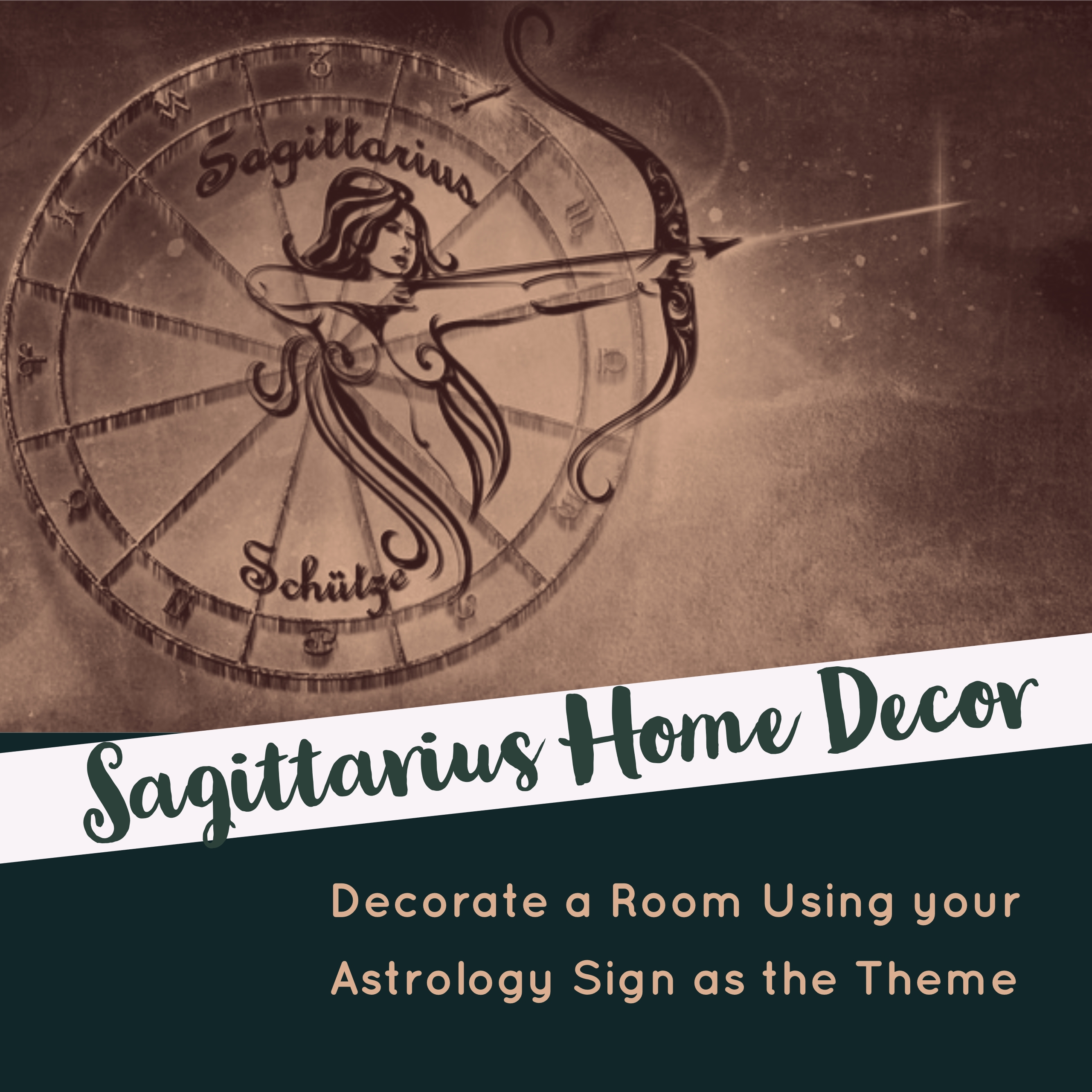 Sagittarius Home Decor