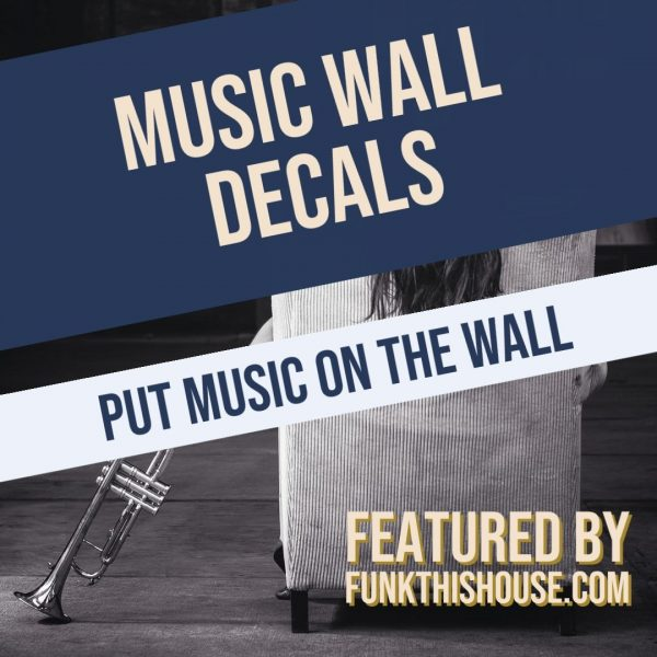 Music Decals for the Wall