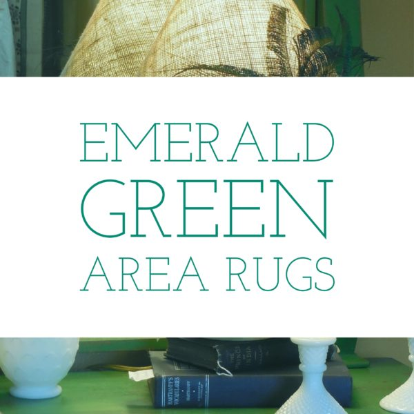 Emerald Green Area Rugs
