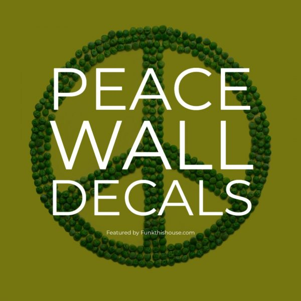 Peace Wall Decals