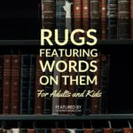 Rugs with Words on Them